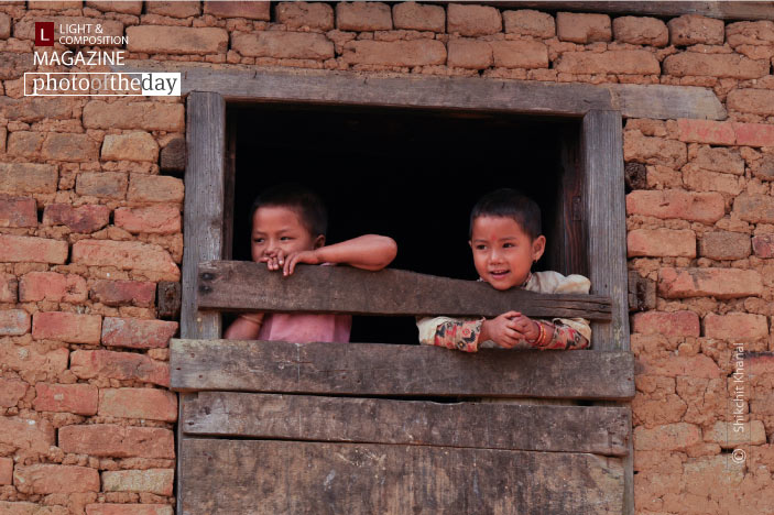 Siblings in the Widow, by Shikchit Khanal