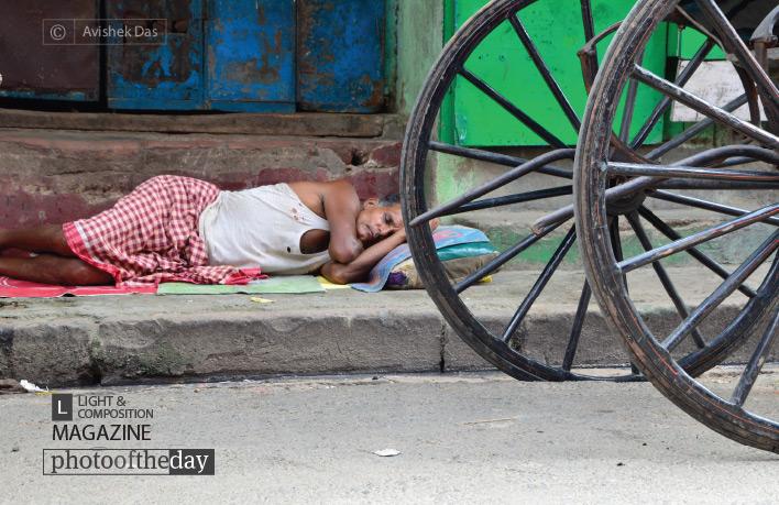 Sleep on the Wheel, by Avishek Das