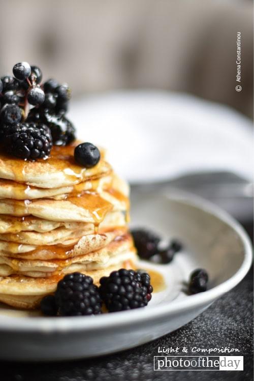 Pancake Panorama, by Athena Constantinou