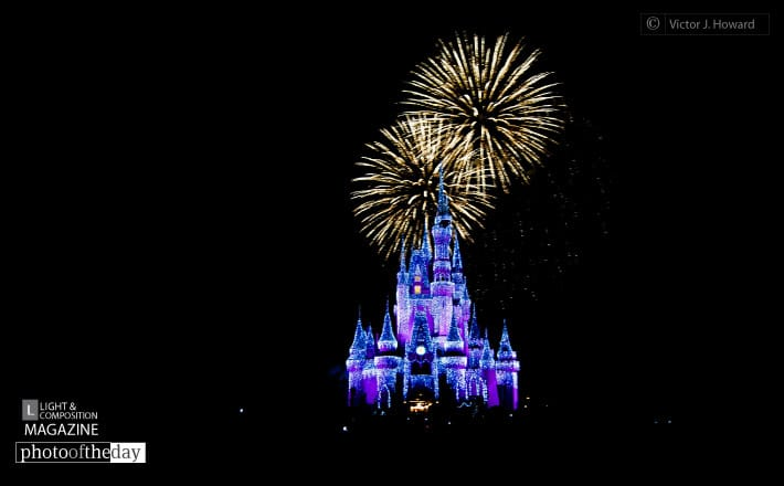 Wishes at Cinderella's Castle, by Victor Howard