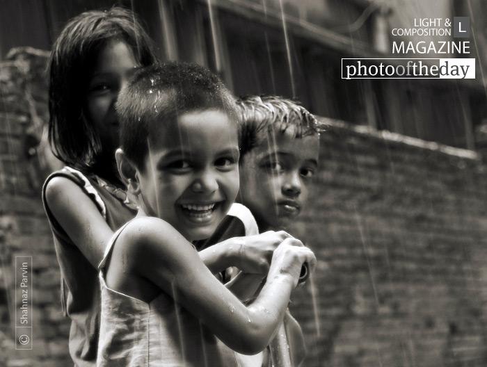 Rain Lovers, by Shahnaz Parvin