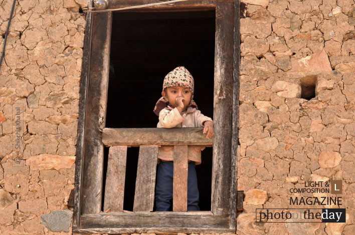 Pensive Little Darling, by Shikchit Khanal