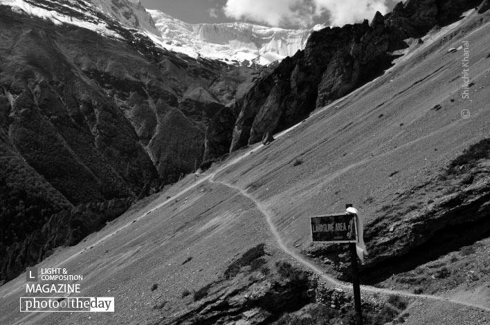Landslide Zone, by Shikchit Khanal