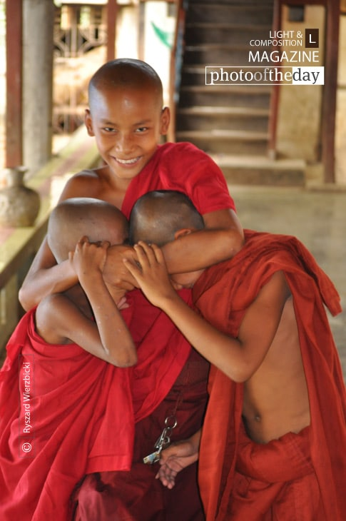 Monk Hooligans, by Ryszard Wierzbicki