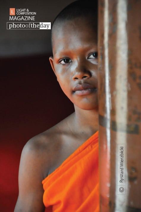 A Young Monk, by Ryszard Wierzbicki
