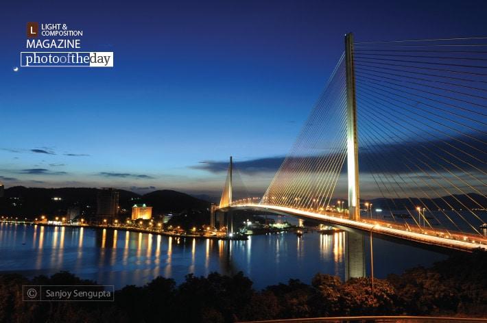 The Cable Bridge, by Sanjoy Sengupta