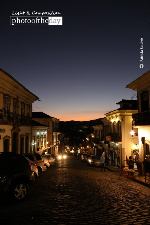 Sunset at Ouro Preto, by Patricia Saraiva