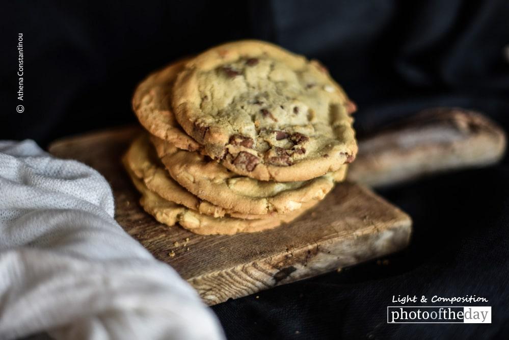 Chocolate Chip Cookies, by Athena Constantinou