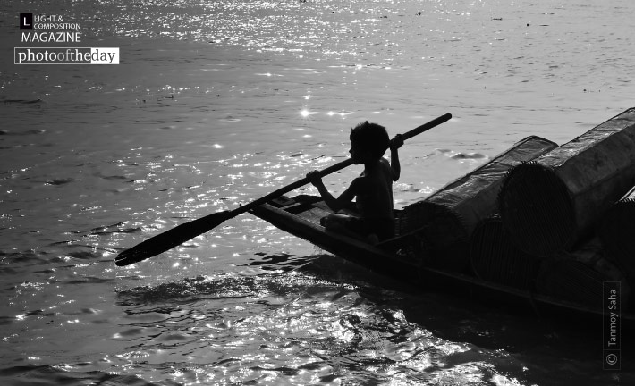 A Little Soul and His Boat, by Tanmoy Saha