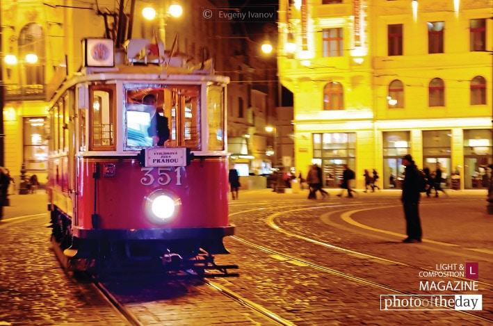 Nostalgic Tram, by Evgeny Ivanov