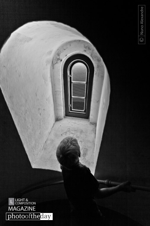 Boy Looking Out of the Window, by Nuno Alexandre