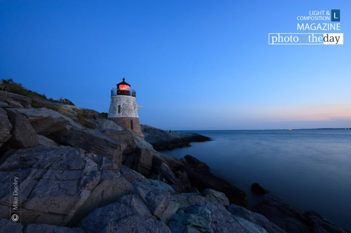 Castle Hill Lighthouse, by Mike Dooley
