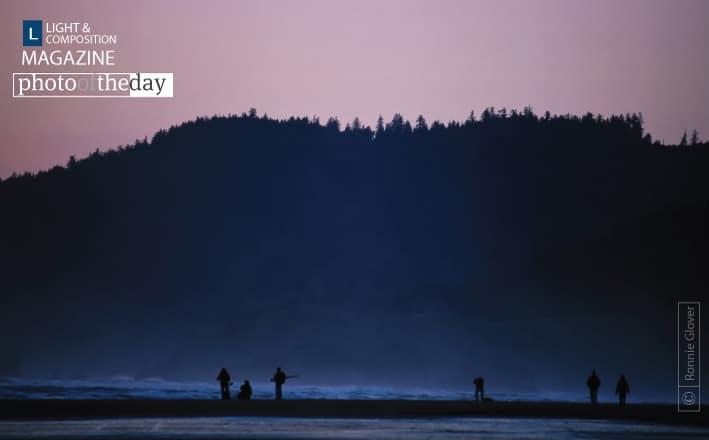 Beach at Dusk, by Ronnie Glover