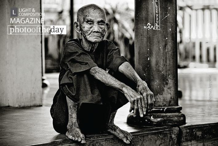 Nha Trang Monk, by Thomas Jeppesen