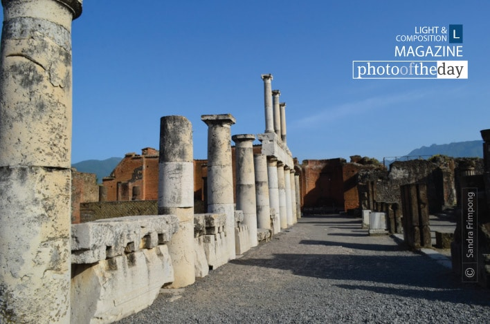 Forum Columns of Pompeii, by Sandra Frimpong