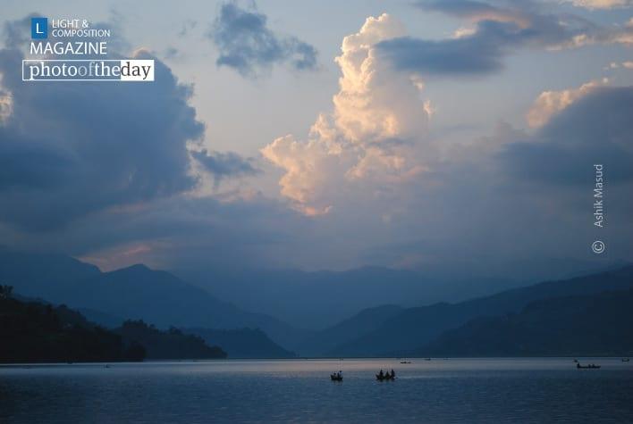 Phewa Lake, by Ashik Masud