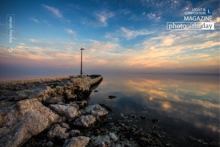 Bombay Beach Sunset, by Mickey Strider