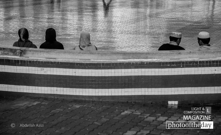 Moroccan Heads, by Abdellah Azizi