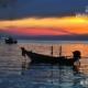 Sunset on Sairee, by Ryszard Wierzbicki