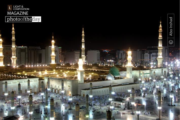 Al-Masjid al-Nabawi, by Abo Inshad