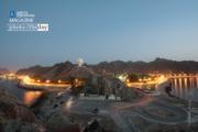 Muttrah Corniche at Blue Hour, by Sanjoy Sengupta