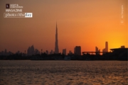 Sunset in Dubai, by Joy Dasgupta