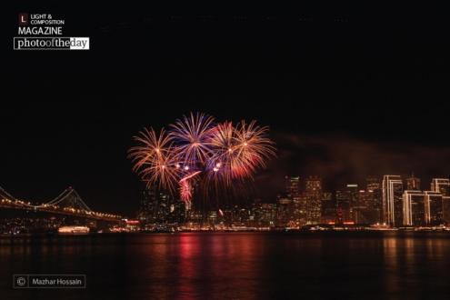 New Year Fireworks, by Mazhar Hossain