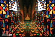 Colorful Stained Glass, by Zahraa Al Hassani