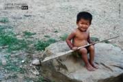 A Happy Tribal Kid, by Tanmoy Saha