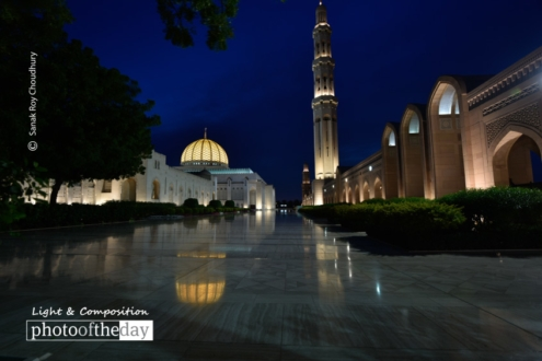 The Grand Mosque, by Sanak Roy Choudhury