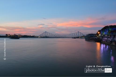 Howrah Bridge, by Sanak Roy Choudhury