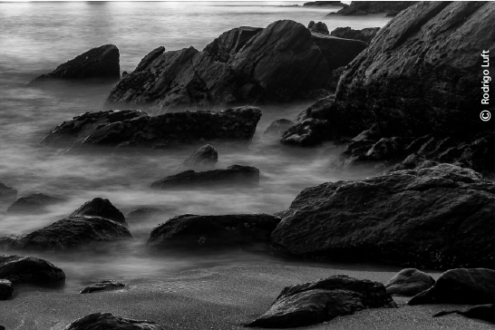 Wet Rocks, by Rodrigo Luft
