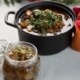 Game Stew with Pickled Mushrooms, by Ola Cedell