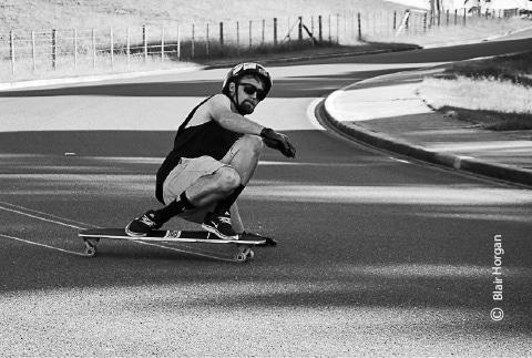Downhill Skating, by Blair Horgan