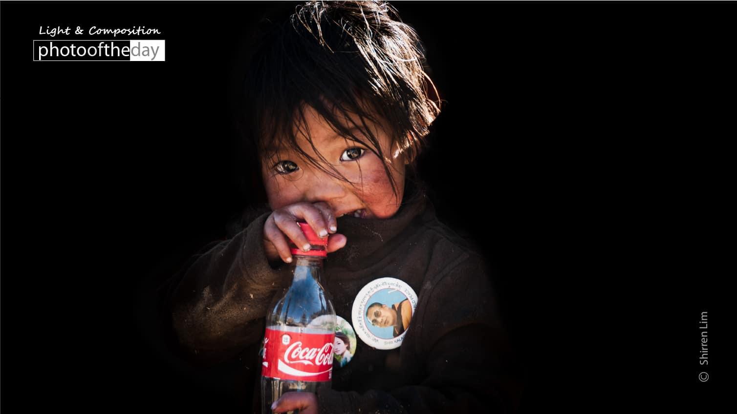 Little Girl from Bhutan, by Shirren Lim