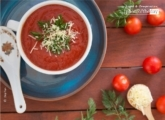 Tomato Soup with Cheese, by Diep Tran
