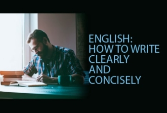 English: How to Write Clearly and Concisely