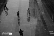 Riding in the Rain, by Siew Bee Lim