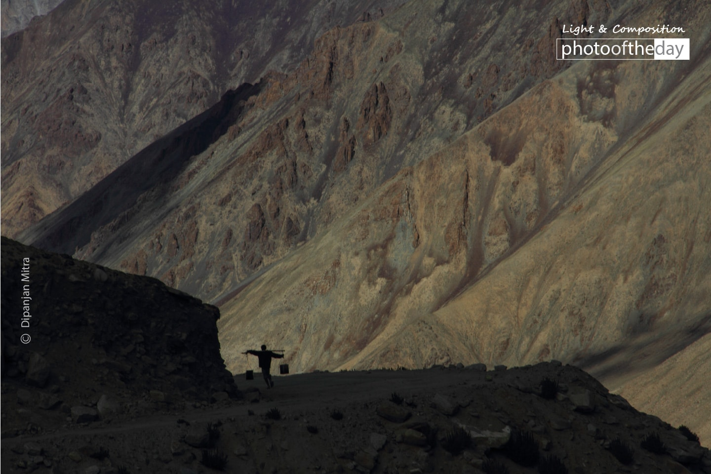 Life in the Mountains, by Dipanjan Mitra