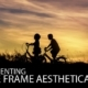 Presenting the Frame Aesthetically