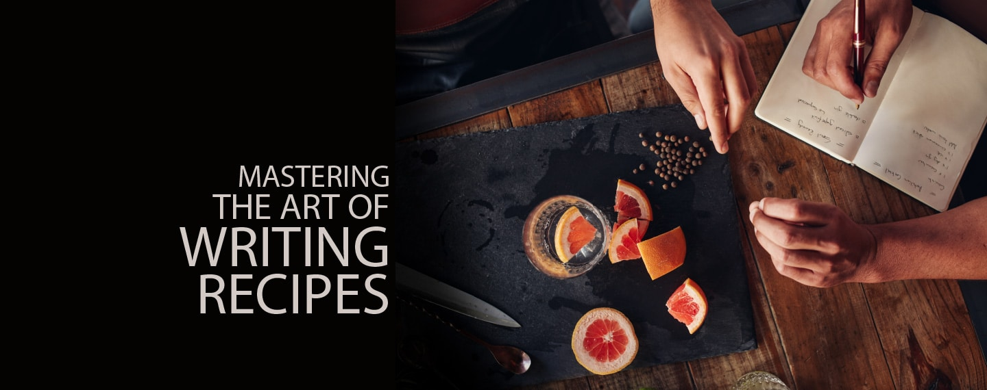 Mastering the Art of Writing Recipes