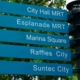 A Sign Post in Blue-Green by Siew Bee Lim