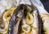 Backed Mullets with Fennel by Barbara Martello