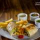 Burritos Vegetarianos by Rodrigo Aliaga