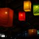 Amphawa Floating Market Lampoons by Ryszard Wierzbicki