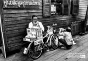 Bicycle Stand by Ryszard Wierzbicki