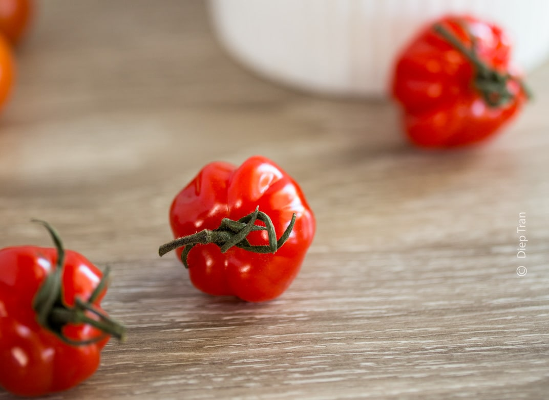 Cherry Tomatoes by Diep Tran