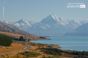 Mount Cook Road by Manon Mathieu