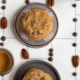 Chocolate Pecan Cookies Line Up by May Lawrence