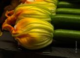Stuffed Zucchini Flower Pintxos by May Lawrence